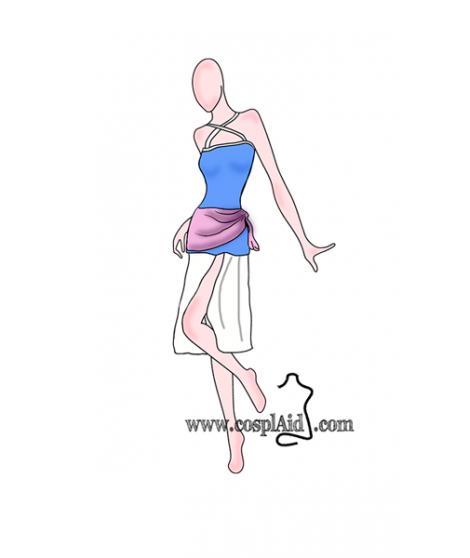 Lisanna Strauss cosplay patterns