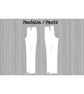 Patrón pantalón básico