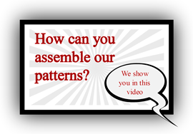 How you can assemble our patterns