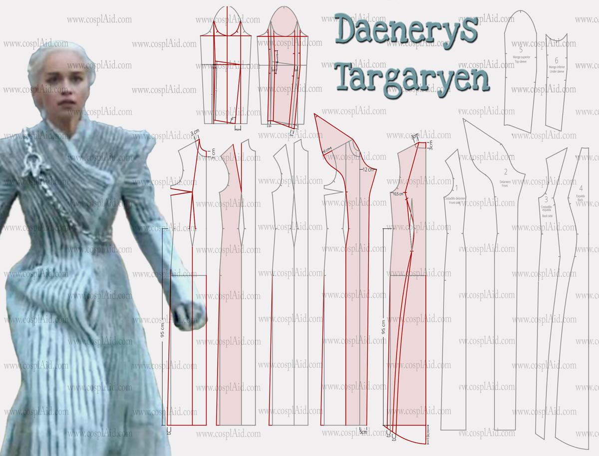 Abrigo daenerys targaryen comprar