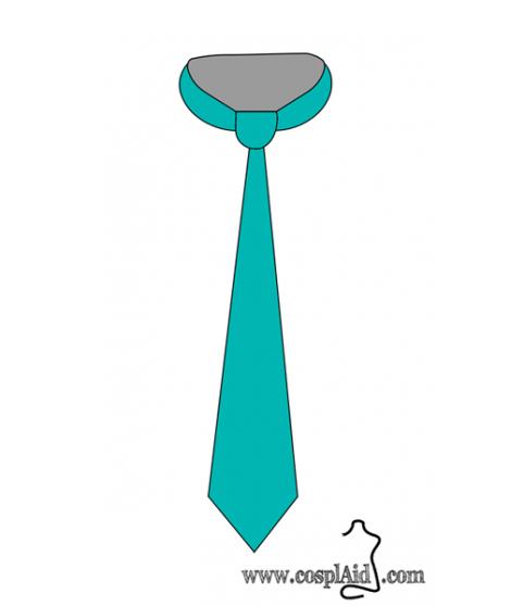 Corbata cosplay patterns