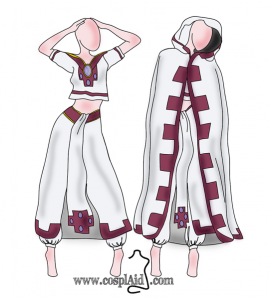 Sakura cosplay patterns